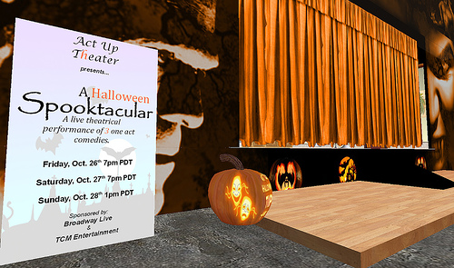Act Up Halloween Theatre